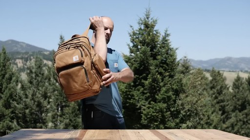 Carhartt Deluxe Work Pack - image 10 from the video