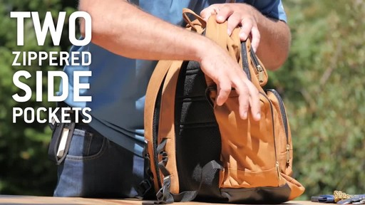 Carhartt Deluxe Work Pack - image 4 from the video