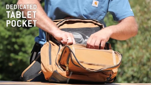 Carhartt Deluxe Work Pack - image 8 from the video