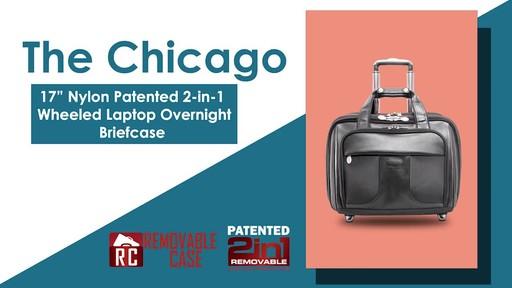 McKlein USA Chicago Nylon Wheeled 15.6