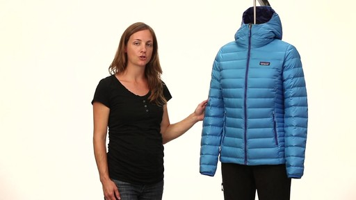 Patagonia Womens Down Sweater Hoody - image 1 from the video