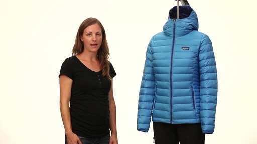 Patagonia Womens Down Sweater Hoody - image 4 from the video