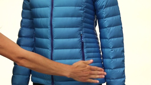Patagonia Womens Down Sweater Hoody - image 5 from the video