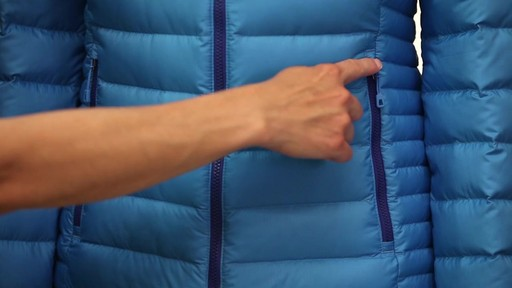 Patagonia Womens Down Sweater Hoody - image 7 from the video