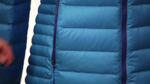 Patagonia Womens Down Sweater Hoody - image 8 from the video