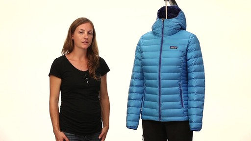Patagonia Womens Down Sweater Hoody - image 9 from the video