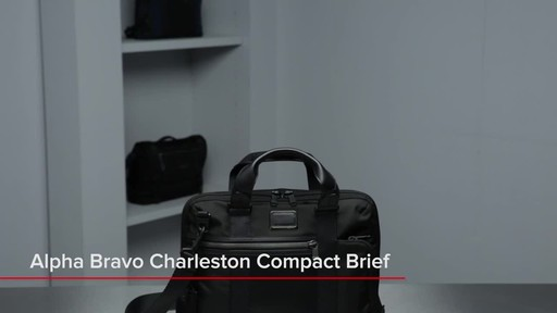 Tumi Alpha Bravo Charleston Compact Brief - image 1 from the video