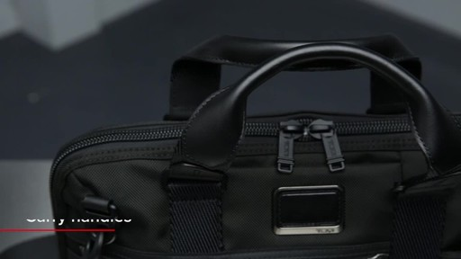 Tumi Alpha Bravo Charleston Compact Brief - image 3 from the video