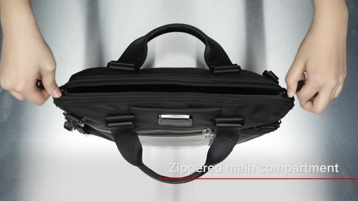 Tumi Alpha Bravo Charleston Compact Brief - image 7 from the video