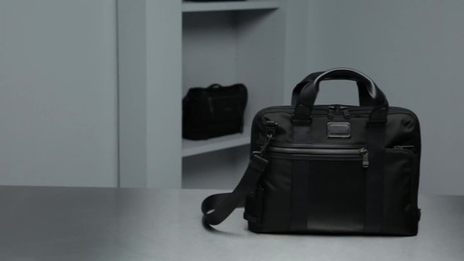 Tumi Alpha Bravo Charleston Compact Brief - image 9 from the video