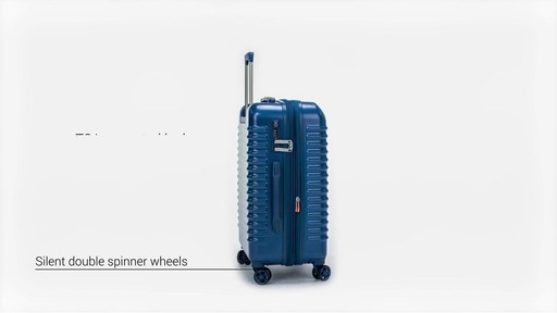 Delsey Bastille Lite Expandable 4 Wheel Spinner Luggage - on eBags.com - image 3 from the video