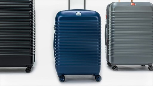 Delsey Bastille Lite Expandable 4 Wheel Spinner Luggage - on eBags.com - image 8 from the video