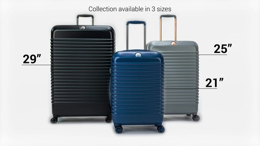Delsey Bastille Lite Expandable 4 Wheel Spinner Luggage - on eBags.com - image 9 from the video
