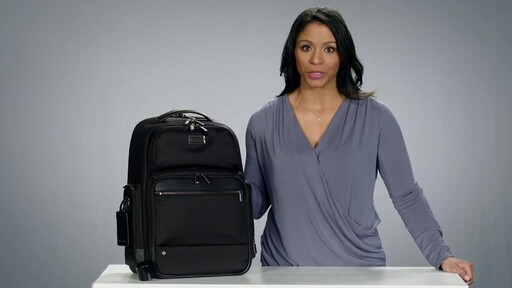 Briggs & Riley @work Large Cargo Laptop Backpack - image 2 from the video