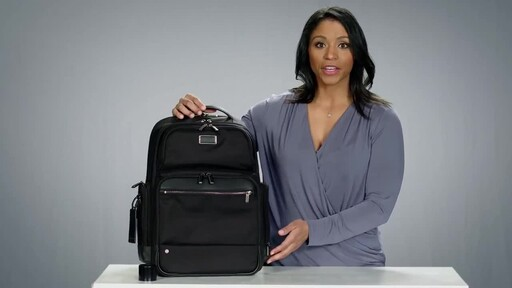 Briggs & Riley @work Large Cargo Laptop Backpack - image 4 from the video
