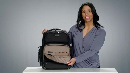 Briggs & Riley @work Large Cargo Laptop Backpack - image 5 from the video