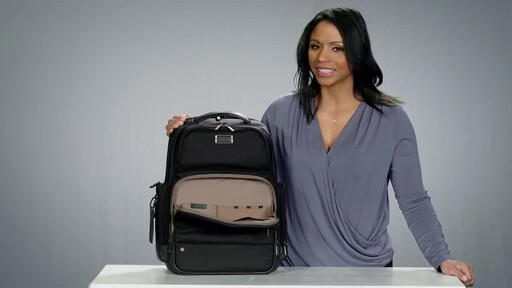 Briggs & Riley @work Large Cargo Laptop Backpack - image 6 from the video