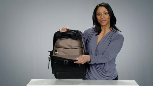 Briggs & Riley @work Large Cargo Laptop Backpack - image 7 from the video