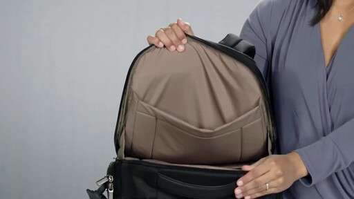 Briggs & Riley @work Large Cargo Laptop Backpack - image 8 from the video