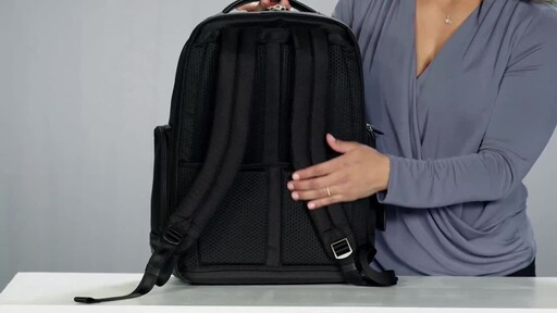 Briggs & Riley @work Large Cargo Laptop Backpack - image 9 from the video