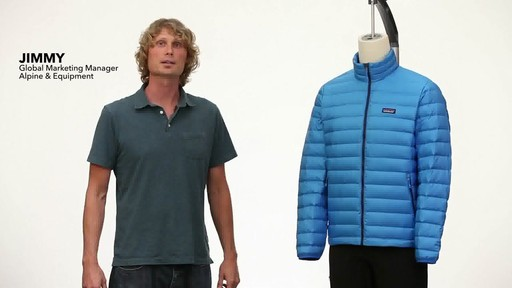 Patagonia Mens Down Sweater Vest - image 1 from the video