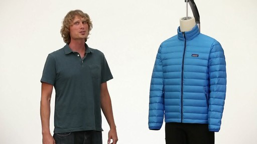 Patagonia Mens Down Sweater Vest - image 10 from the video