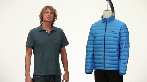 Patagonia Mens Down Sweater Vest - image 3 from the video