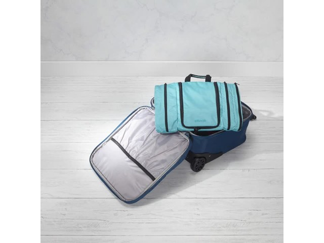 Travelon Anti-Theft Quilted Wheeled Underseat Bag with RFID - Exclusive - image 2 from the video