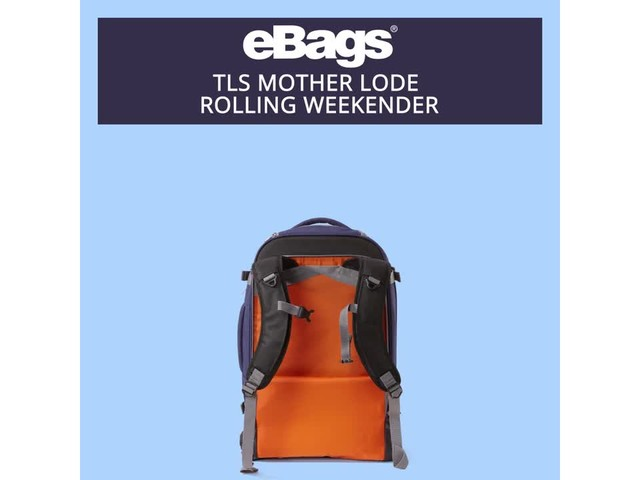 eBags TLS Mother Lode Rolling Weekender - image 8 from the video