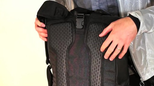 Timbuk2 Especial Vuelo Cycling Laptop Backpack - eBags.com - image 9 from the video