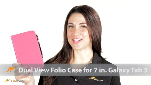 rooCASE Samsung Galaxy Tab 3 7.0: Dual-View Case w/ Stylus - image 1 from the video