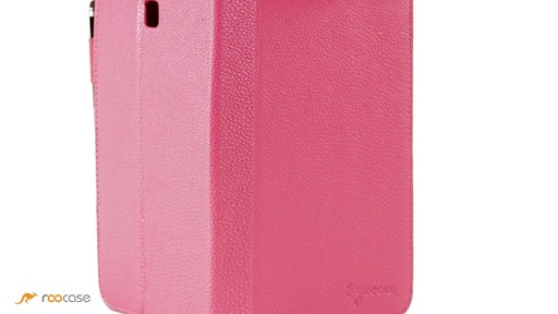 rooCASE Samsung Galaxy Tab 3 7.0: Dual-View Case w/ Stylus - image 2 from the video