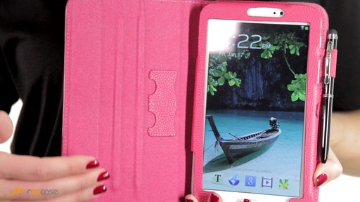 rooCASE Samsung Galaxy Tab 3 7.0: Dual-View Case w/ Stylus - image 3 from the video