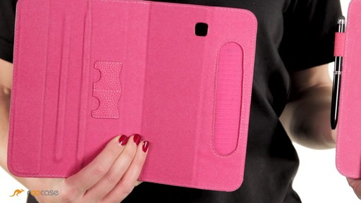 rooCASE Samsung Galaxy Tab 3 7.0: Dual-View Case w/ Stylus - image 4 from the video