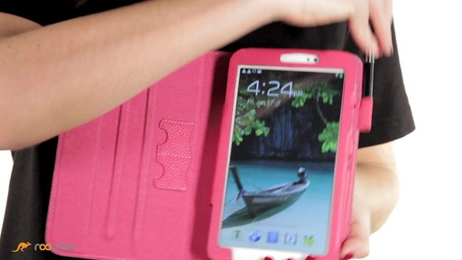 rooCASE Samsung Galaxy Tab 3 7.0: Dual-View Case w/ Stylus - image 5 from the video