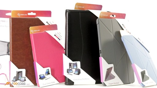 rooCASE Samsung Galaxy Tab 3 7.0: Dual-View Case w/ Stylus - image 8 from the video