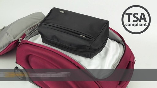 Travelon Wet/Dry 1 Quart Toiletry Kit - image 1 from the video