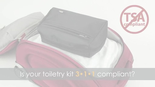 Travelon Wet/Dry 1 Quart Toiletry Kit - image 2 from the video