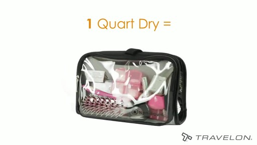 Travelon Wet/Dry 1 Quart Toiletry Kit - image 3 from the video