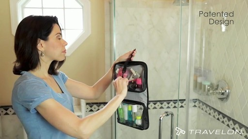 Travelon Wet/Dry 1 Quart Toiletry Kit - image 5 from the video