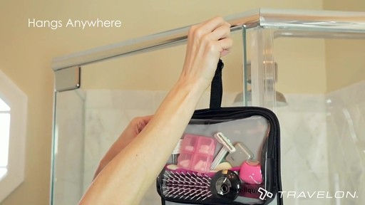 Travelon Wet/Dry 1 Quart Toiletry Kit - image 6 from the video