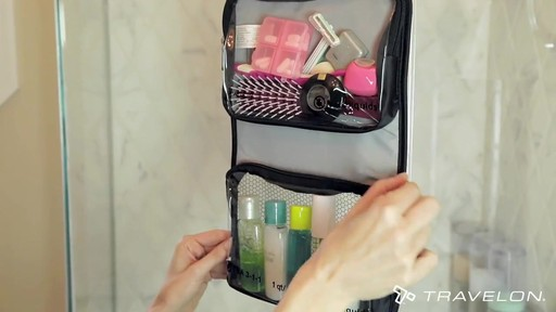 Travelon Wet/Dry 1 Quart Toiletry Kit - image 7 from the video