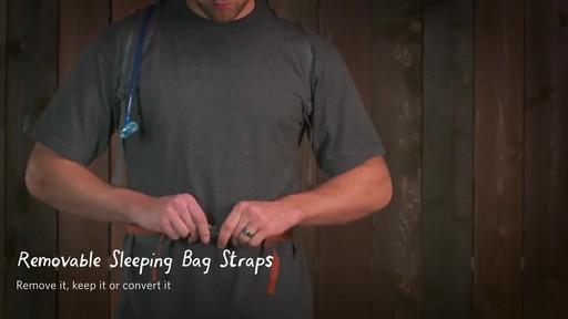 Gregory Men's Baltoro Backpacks - image 5 from the video