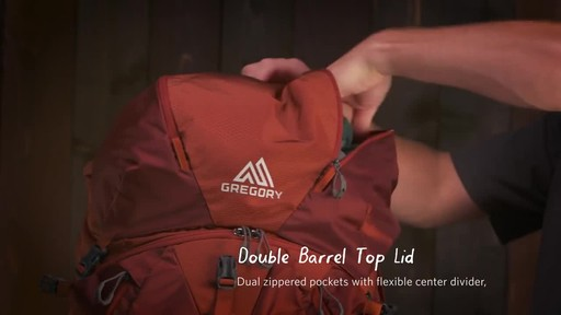Gregory Men's Baltoro Backpacks - image 8 from the video