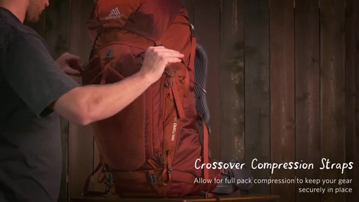 Gregory Men's Baltoro Backpacks - image 9 from the video