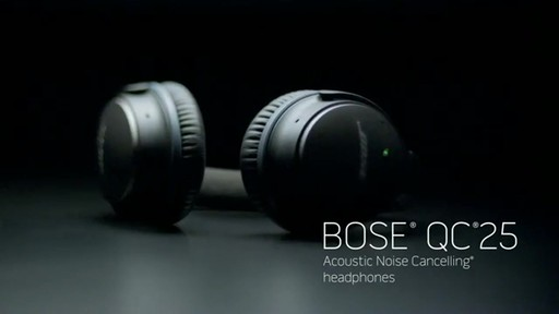 Bose QuietComfort 25 Headphones - Shop eBags.com - image 1 from the video