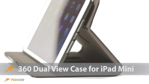 rooCASE iPad Mini Retina: Rotating 360 Dual-View Case - image 1 from the video