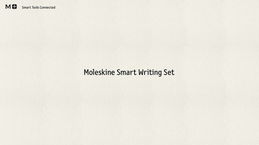 Moleskine Smart Writing Set - Paper Tablet, Pen  - on eBags.com - image 1 from the video