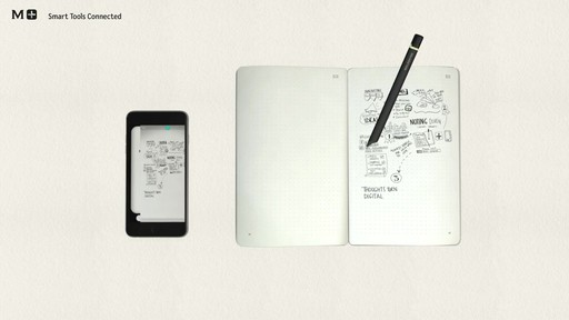 Moleskine Smart Writing Set - Paper Tablet, Pen  - on eBags.com - image 4 from the video