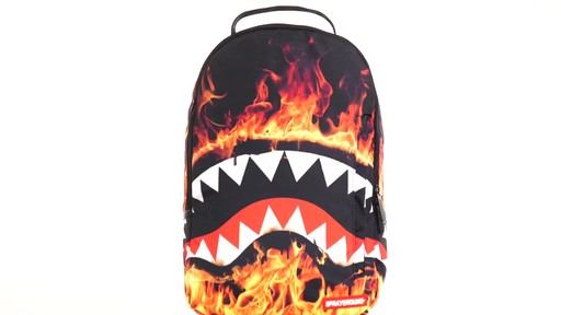 Sprayground Fire Shark Backpack - Shop eBags.com - image 10 from the video